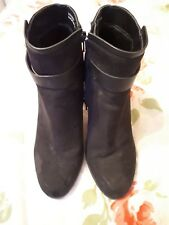 New Look Faux Suede Boots 5