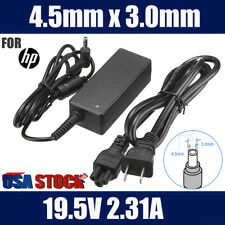 45W Ac Adapter Charger for Hp Laptop 19.5V 2.31A Power Supply Cord 4.5*3.0mm Us