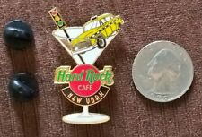 Hard Rock Cafe New York lapel hat tie -Pin- taxi & drink