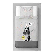 Draps gris en microfibre pour le lit 200 cm x 200 cm