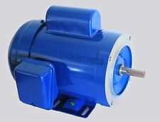 AC MOTOR, 1HP, 1725RPM, 1PH, 115V/208-230V,  56C/TEFC, With base