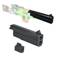 ML 3D Printed 24cm Long Barrel Black C for  SlingFire Modify Toy