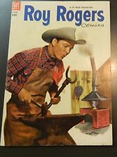 **  1953 ROY ROGERS COMICS #70 GOLDEN AGE WESTERN 10 CENT**
