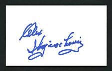 Alex Wojciechowicz Autographed Signed 3x5 Index Card Detroit Lions 158106