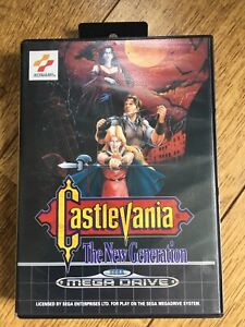 Castlevania New Generation Megadrlve Game! Look In The Shop!