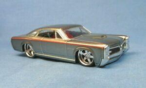 1967 PONTIAC GTO HOT WHEELS G MACHINES SILVER MODEL GOAT MUSCLE CAR