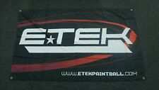 Planet Eclipse Etek Paintball Banner Flag - Rare!