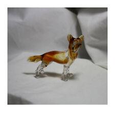 Art Blown Glass Murano Figurine Glass Dog Chinese Crested