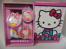 Hello Kitty Sanrio Kids Watch LCD W/interchangeable tops