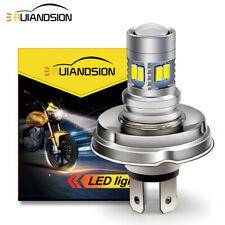 1pc 6V-30V P45T R2 5730 12 LED Motorbike Headlight Bulb Beetle Citroen 2CV White