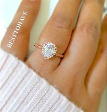 Handmade Pear Costume Rings