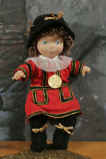 "RARE Disney World ENGLAND BOY bean bag plush stuffed doll IT""S A SMALL WORLD 8"""