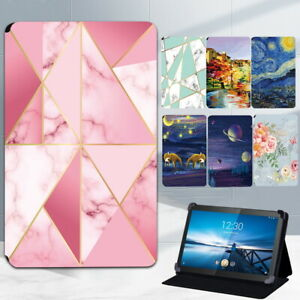 """Leather Stand Case Cover For lenovo Smart Tab M8 8""""/M10 10.1""""/Plus/Tab P11/Yoga"""