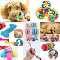 Pet Dog Puppy Cat Dental Teething Healthy Teeth Chew Training Play Ball Toy Hot