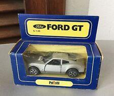 VINTAGE#Polistil Ford GT 70 Grey Silver #NIB 1:43
