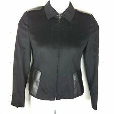 Akris Punto Bergdorf Goodman Blazer Size 6 Jacket Wool/Angora Zipper Long Sleeve