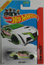 "Hot Wheels - Loop Coupe weiß ""HW Racing"" Neu/OVP US-Card"