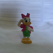 """Disney Daisy Duck Hot Pink with Matching Jacket PVC Figure Cake Topper Sz 2 1/4"""""""