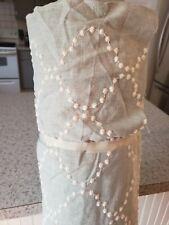 15 YDS Greenhouse B2125 Mist HGTV Home Pearl Drop Emb Mist Fabric PK Lifestyles