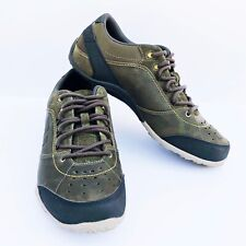 Merrell Wraith Fire Move Olive Green Select Grip Trainer Suede Sneaker 10 J71069