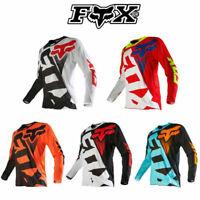 FOX Cycling Jersey TLD Atmungsaktiv Motocross Trikot Radsport Langarm Radtrikot