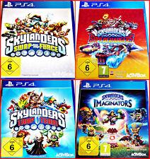PS4 SKYLANDERS GAMES, PORTAL UND FIGUREN AUSWAHL:SWAP,IMAGINATRS,TRAP,SUPERCHARG