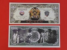 QUEEN Rock N Roll Band from London, ENGLAND ~ $1,000,000 One Million Dollar Bill