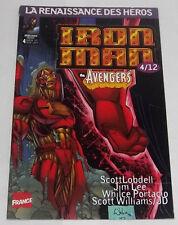 Iron Man # 4 [Heroes Reborn] VF Marvel France 1998