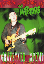 METEORS Graveyard Stomp DVD psychobilly live rare early 1980s P Paul Fenech NEW