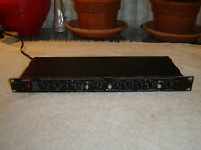 Ashly XR1000 Stereo Electronic Crossover, Vintage Rack