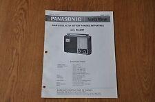 Panasonic R-1597  Radio Genuine Service Manual. RF 1597