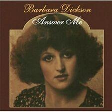 Barbara Dickson - Answer Me [New CD] UK - Import