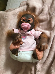 Ashton Drake - Little Umi Baby Orangutan  - by Wendy Dickison