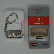 Vintage Bburago Ferrari F40 Keychain Key-holder 1:87 Scale - NEW