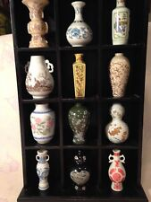 FRANKLIN MINT TREASURES OF THE IMPERIAL DYNASTIES MINIATURE VASE COLLECTION