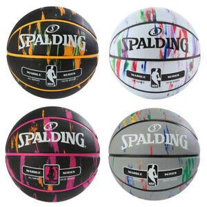 Spalding Basketball - NBA Marble Series - Mehrfarbig - Größe 6 & 7