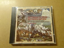 CD / HANDEL, PINNOCK, PRESTON: DETTINGER TE DEUM - ANTHEM (ARCHIV)