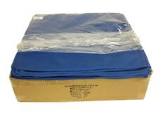 96 Microfiber Glass Cloths Blue 16x16 Cleaning Detailing Towels Auto Car 300GSM