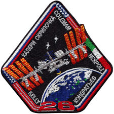 International Space Station - Expedition 26 - Embroidered Patch 10cm x 10cm