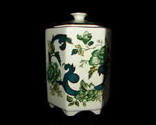 Mandalay Chartreuse by Mason's Staffordshire Potteries Porcelain Ming Jar w/ Lid