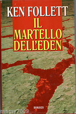 Ken Follett =IL MARTELLO DELL'EDEN =EUROCLUB 1999= Cop. Rigida