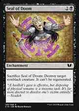 Seal of Doom X4 NM Commander 2015 MTG  Magic Cards Black Common