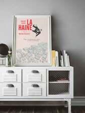 La haine, alternative movie poster, Vincent Cassel, Mathieu Kassovitz
