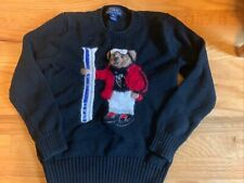 Polo Ralph Lauren Polo Bear Collection Boys Size Medium 10/12 Ski Bear Sweater