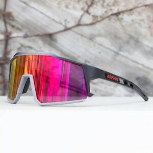 Kapvoe Polarized Sunglasses Cycling Glasses UV400 Goggles Sports Eyewear 4lens