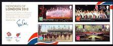 GB QEII Gomma integra, non linguellato timbro in miniatura foglio 2012 Ricordi di Londra olimpiadi SG ms3406