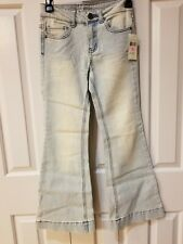 Girls GUESS Jean's NWT  Sz. 10 bell bottom decorate yourself