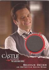 "Castle Seasons 3&4 - M21 ""Detective Kevin Ryan"" Wardrobe Card"