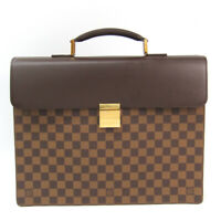 Louis Vuitton Damier Altona PM N53315 Men's Briefcase Ebene BF511288