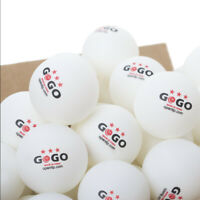 GOGO 3 Star Table Tennis Balls 40+ ABS Plastic Ping Pong Balls (50-500 Pieces)